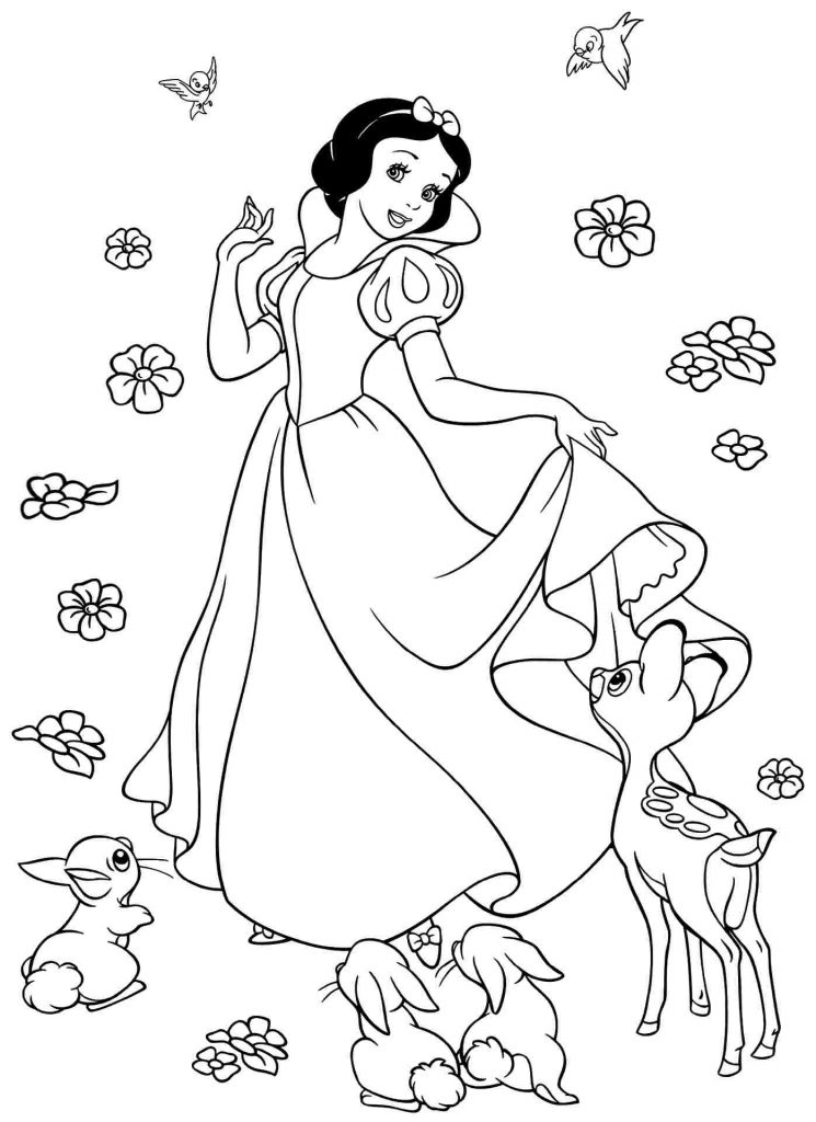 coloring picture of snow white snow white coloring pages best coloring pages for kids coloring snow of picture white