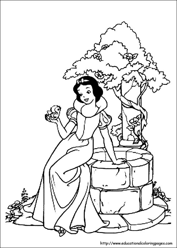 coloring picture of snow white snow white coloring pages free for kids white snow coloring picture of