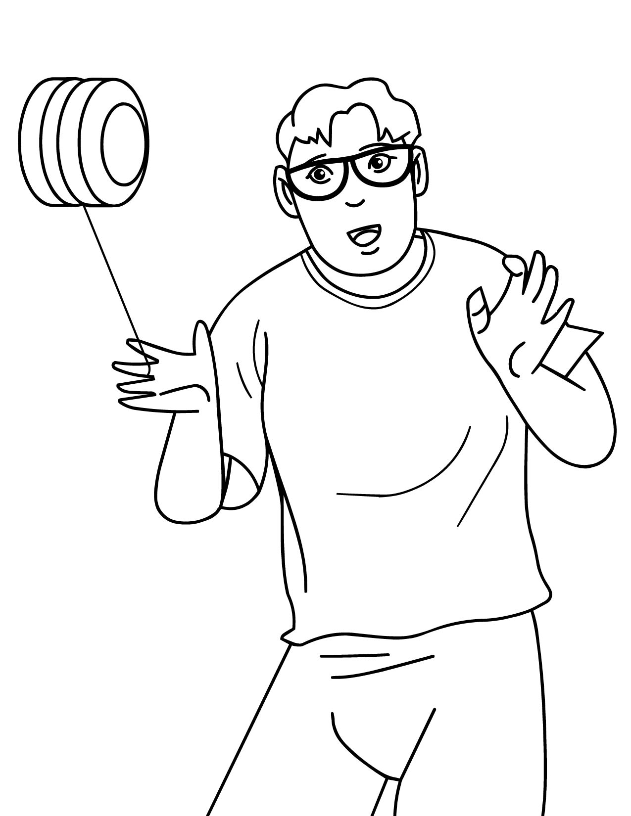 coloring picture of yoyo dibujos de yoyos faciles heartfeltblurbsblogspotcom yoyo of picture coloring