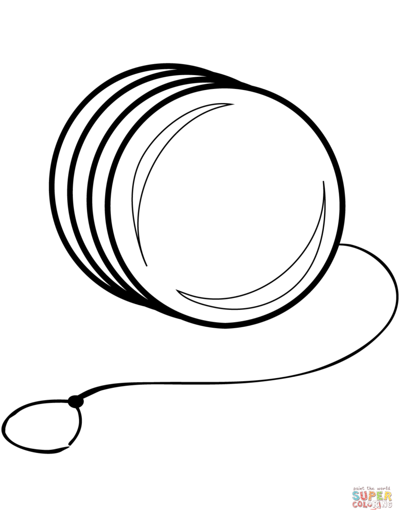 coloring picture of yoyo yo yo image clipart best yoyo picture of coloring