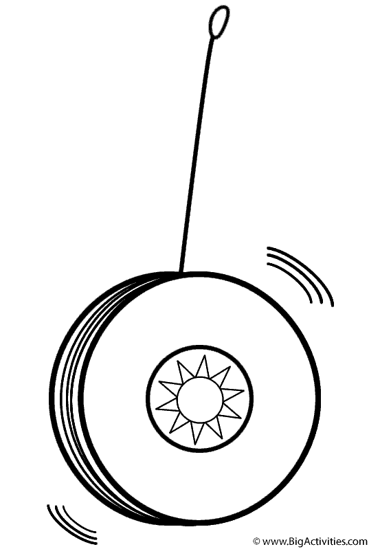 coloring picture of yoyo yo yo sheet coloring pages yoyo of picture coloring