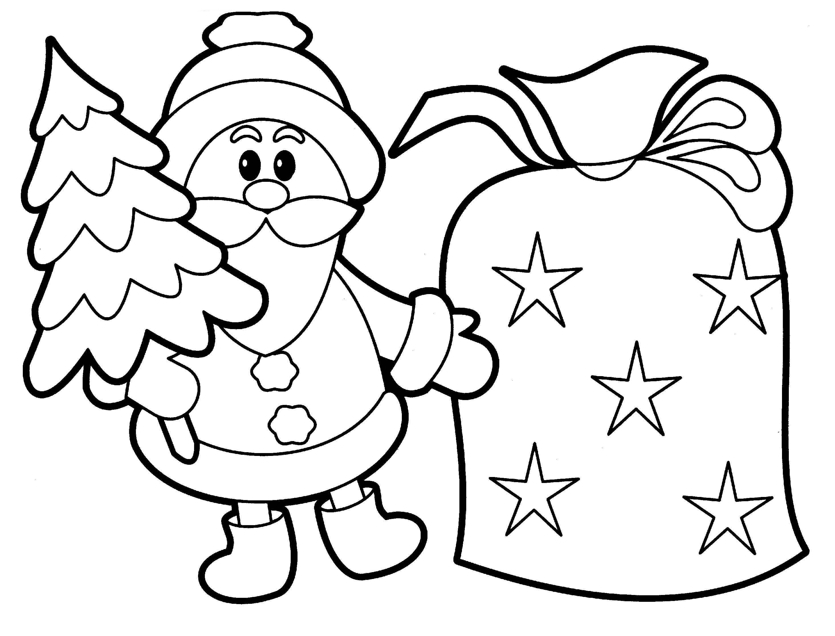 Coloring pictures christmas