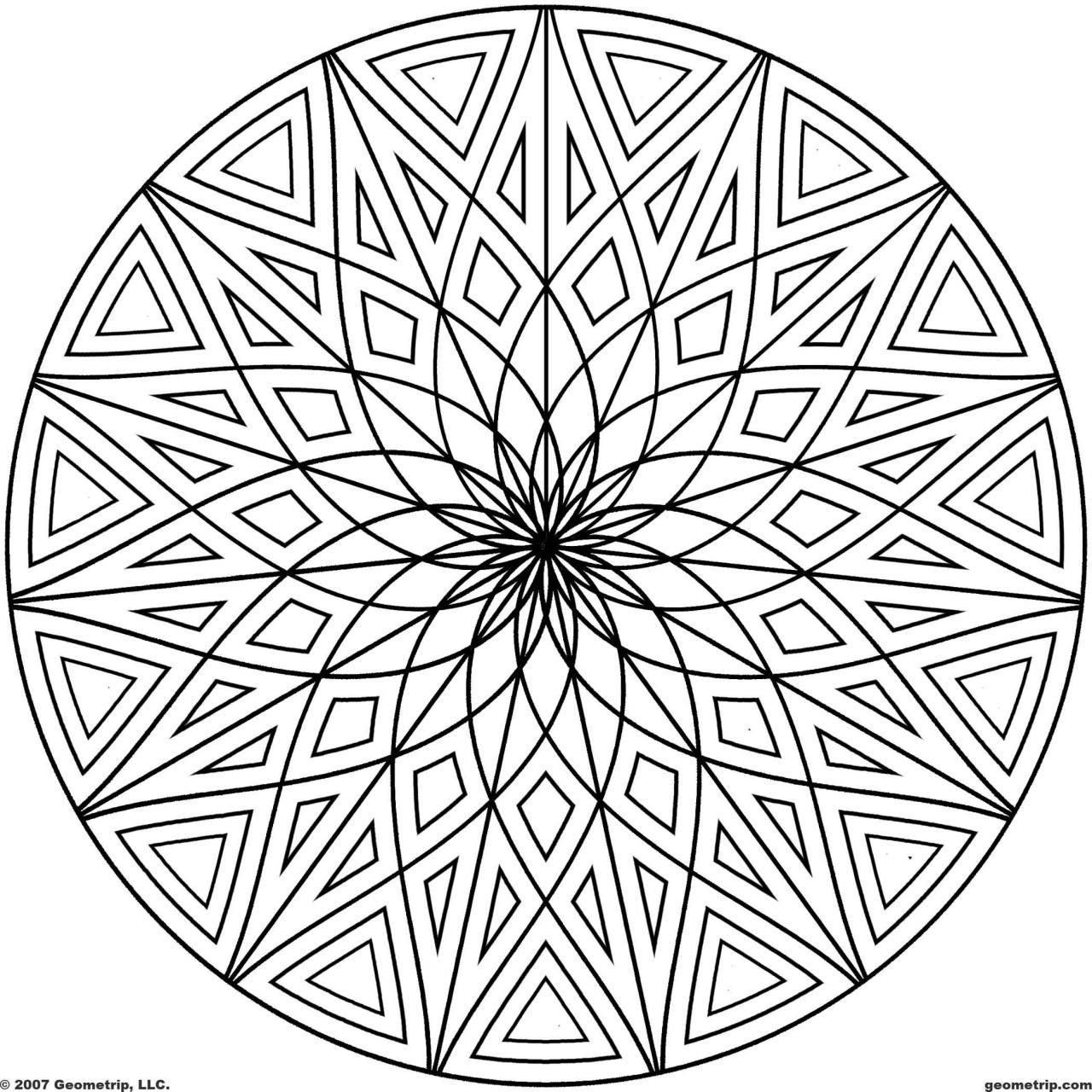 coloring pictures designs 13 cool shapes and designs images overlapping shapes art coloring designs pictures