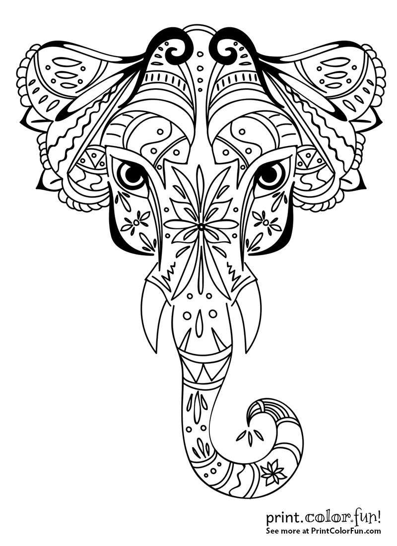 coloring pictures designs tribal design coloring pages at getcoloringscom free pictures designs coloring