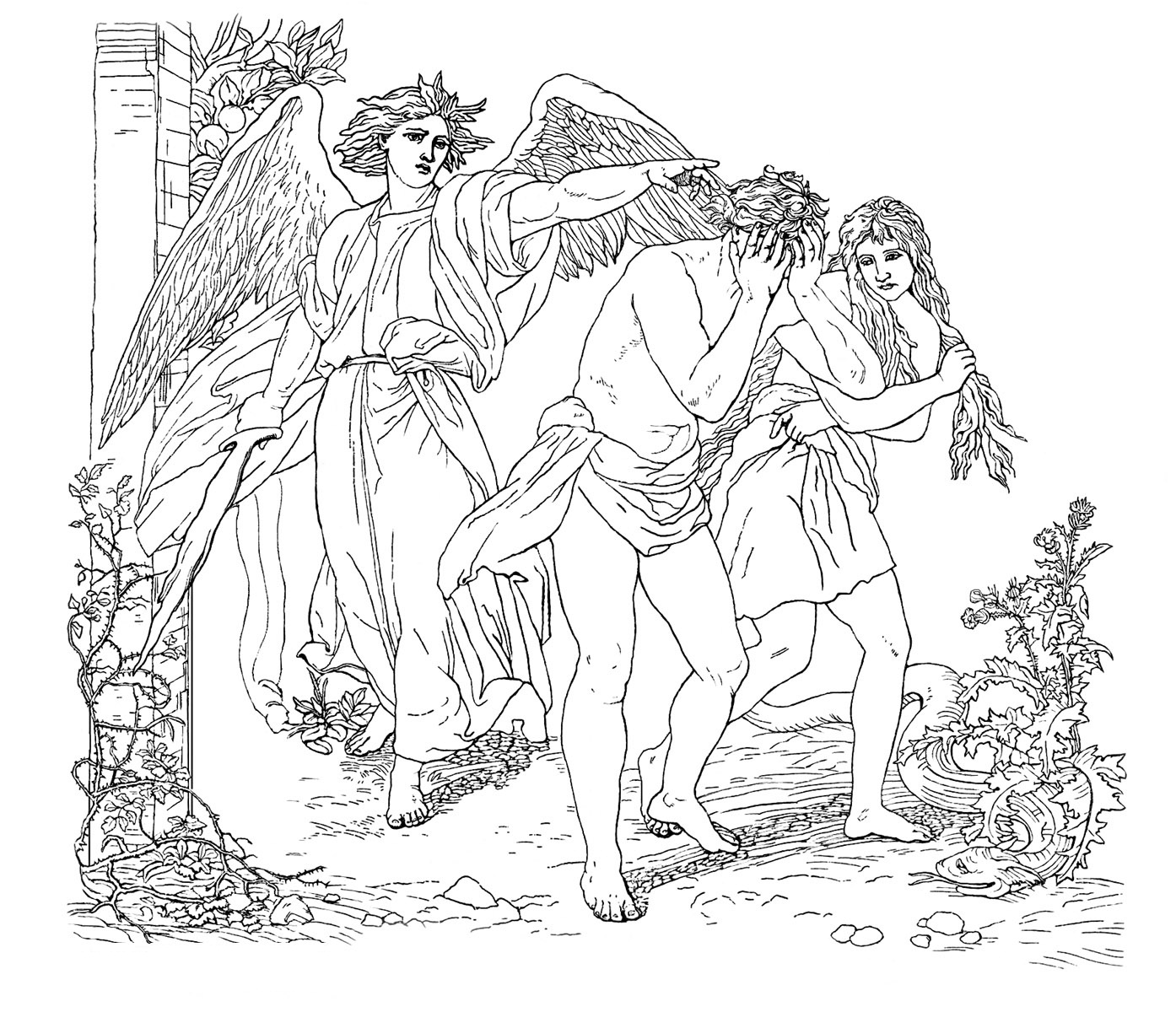 coloring pictures of adam and eve top 25 freeprintable adam and eve coloring pages online eve adam of and coloring pictures