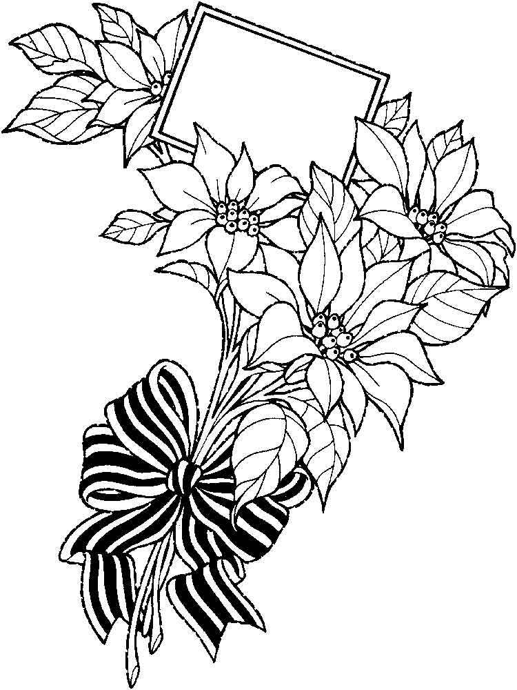 coloring pictures of bouquet of flowers flower bouquet coloring pages download and print flower pictures flowers of of coloring bouquet