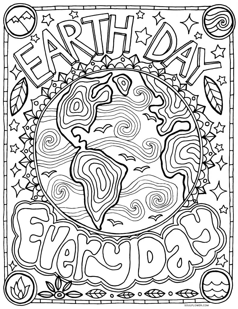 coloring pictures of earth happy earth day coloring page free printable coloring earth of pictures coloring