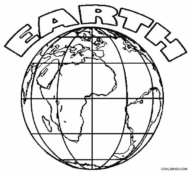 coloring pictures of earth printable earth coloring pages for kids of pictures earth coloring