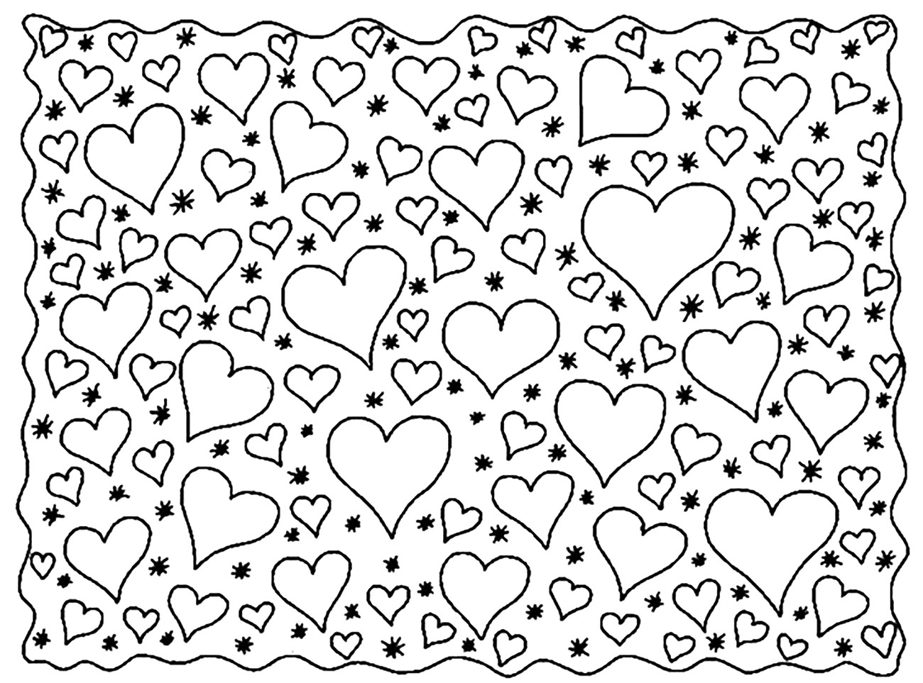 coloring pictures of hearts free printable heart coloring pages for kids cool2bkids pictures hearts coloring of 1 1