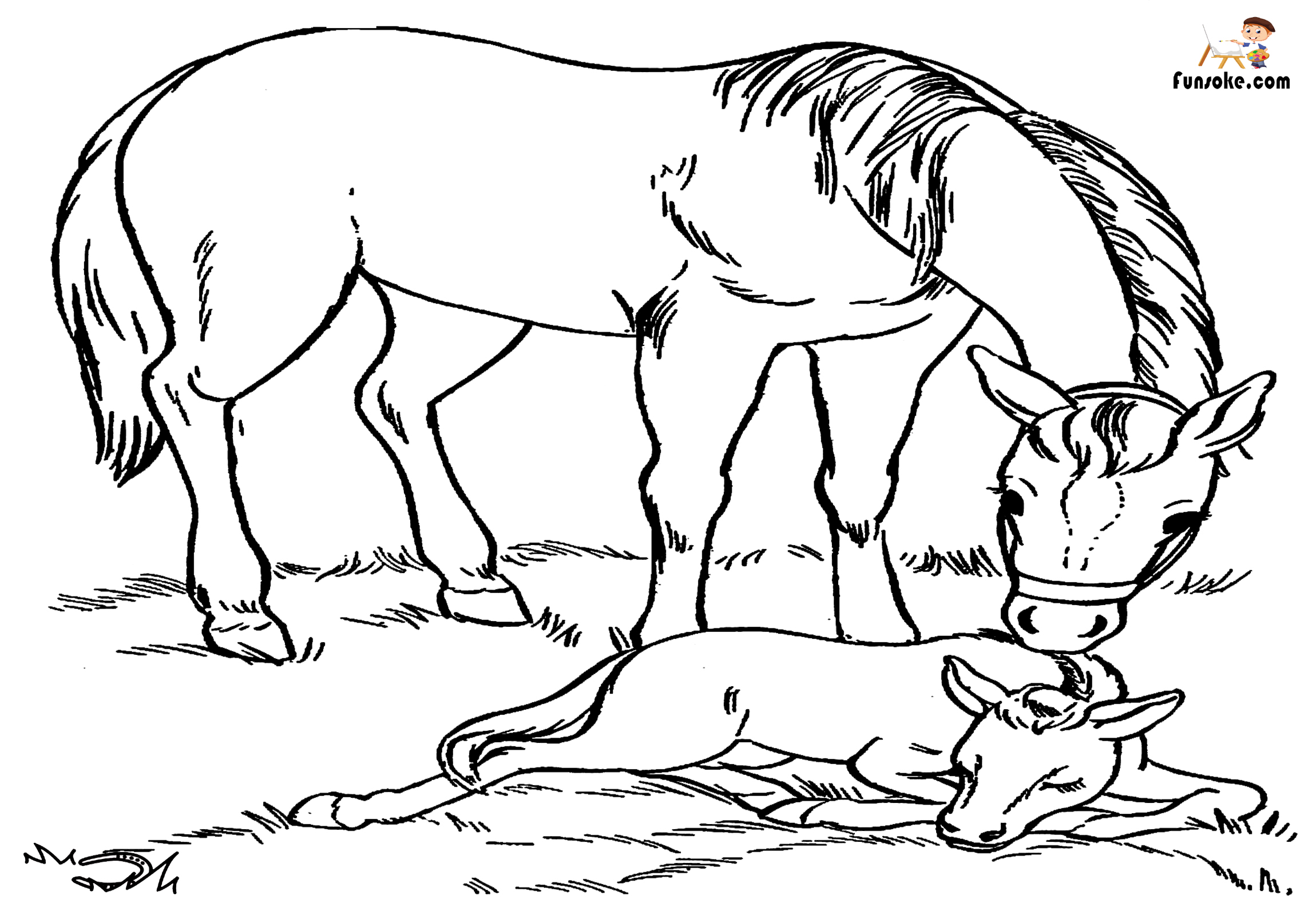 coloring pictures of horse free horse coloring pages coloring horse of pictures