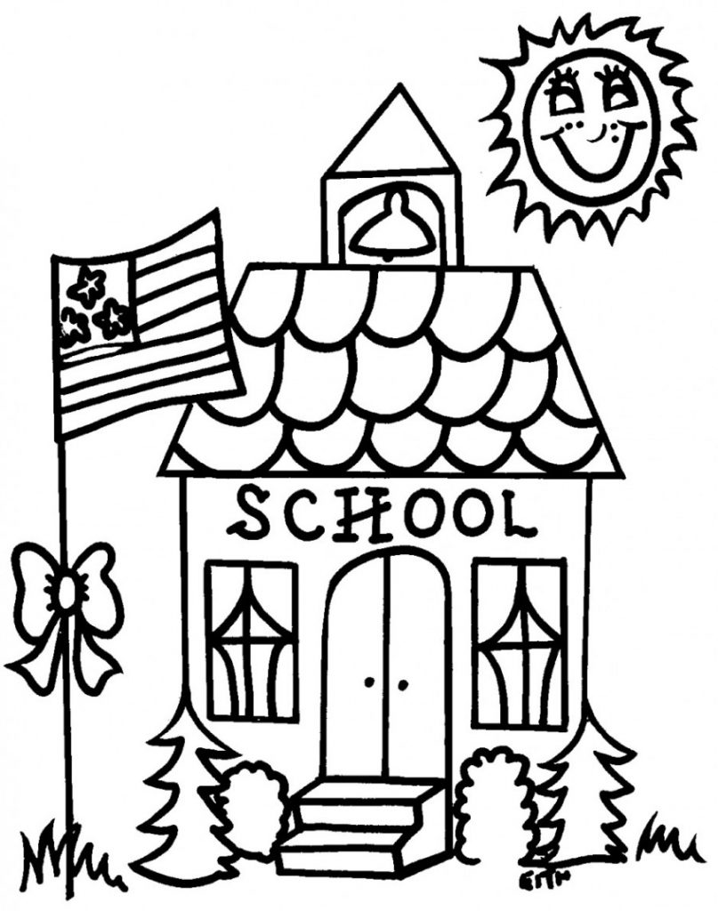 coloring pictures school school coloring pages to download and print for free coloring pictures school