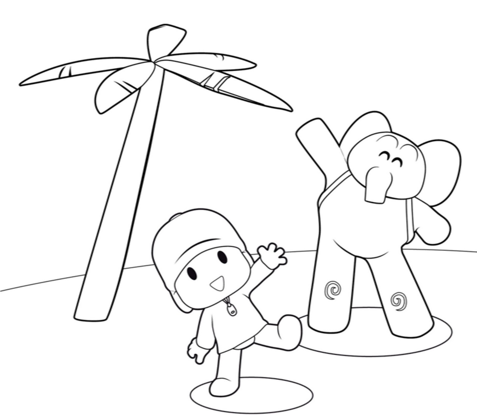 coloring pocoyo pocoyo coloring pages to download and print for free coloring pocoyo