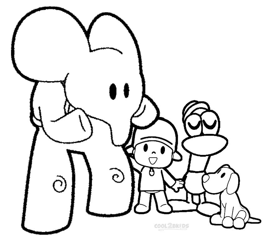 coloring pocoyo printable pocoyo coloring pages for kids cool2bkids pocoyo coloring 1 1
