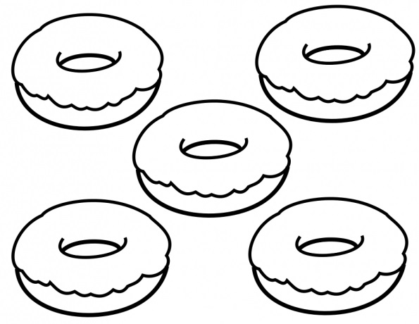 coloring printable donut donut coloring pages best coloring pages for kids donut coloring printable