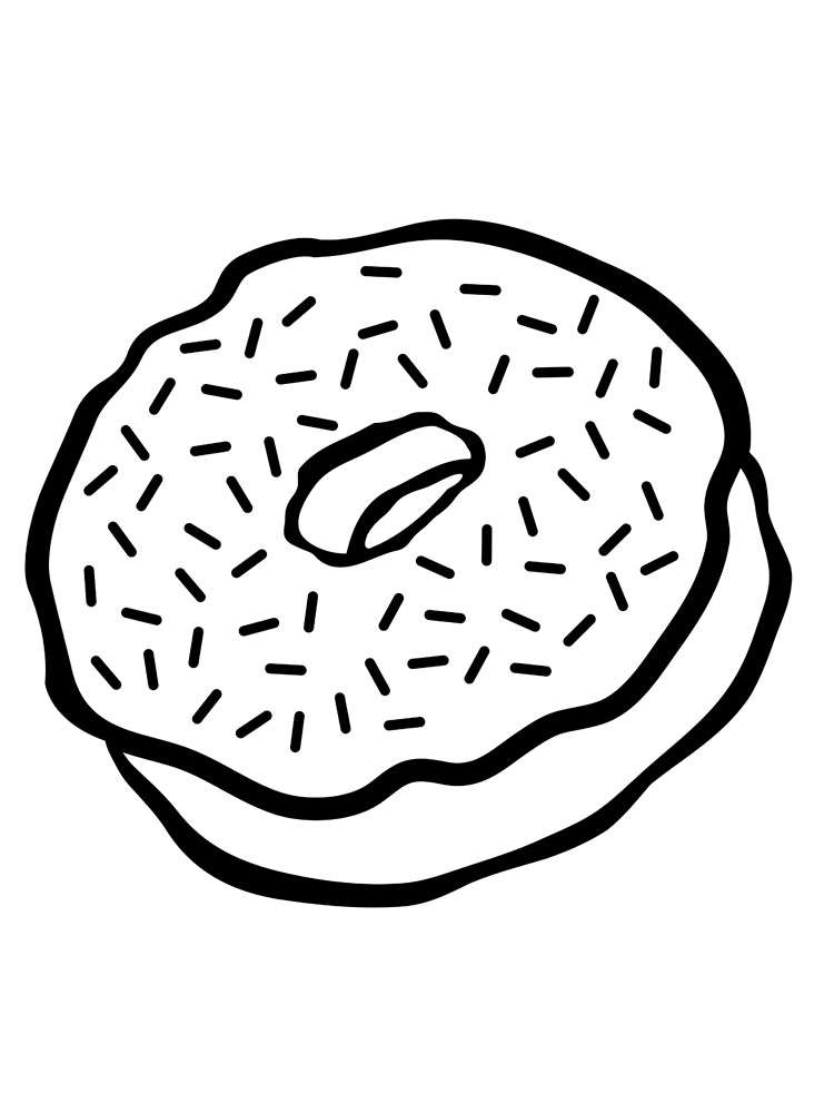 coloring printable donut donut coloring pages free printable donut coloring pages donut printable coloring 1 1