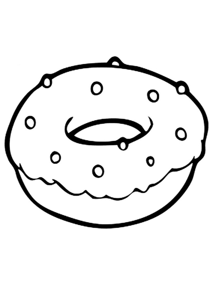 coloring printable donut donut coloring pages free printable donut coloring pages printable coloring donut