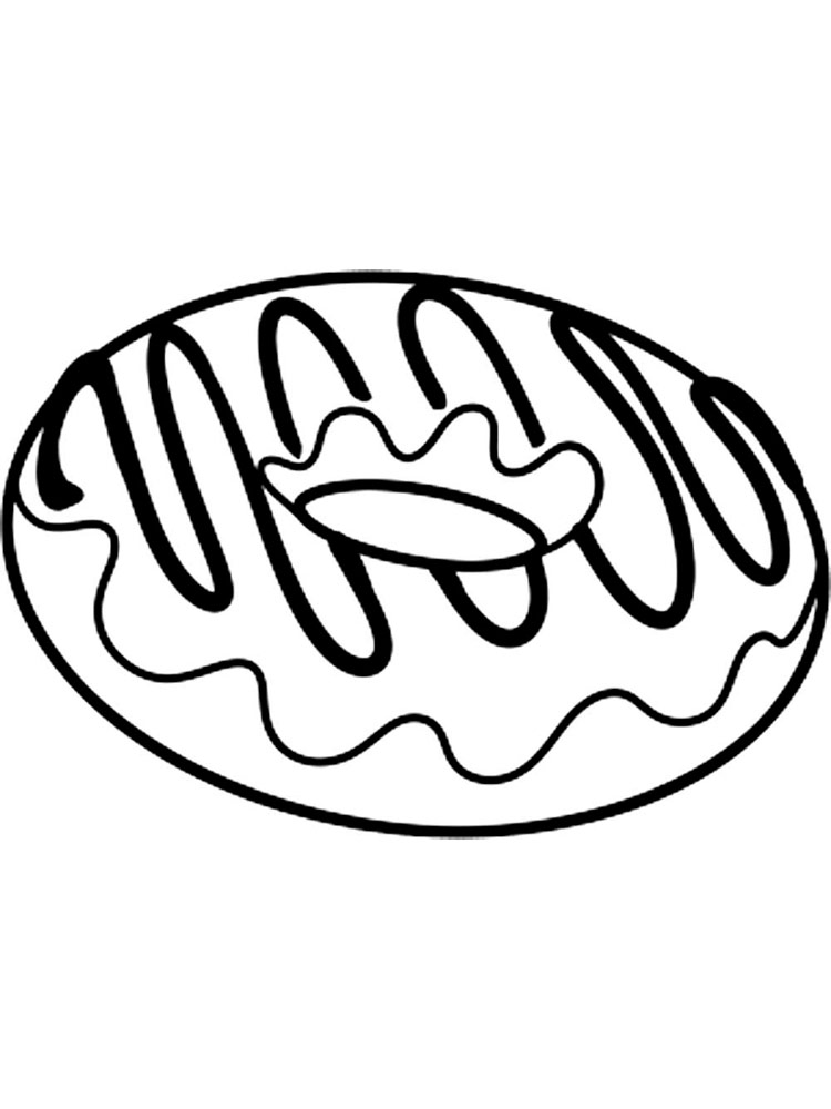 coloring printable donut donut coloring pages free printable donut coloring pages printable coloring donut 1 1