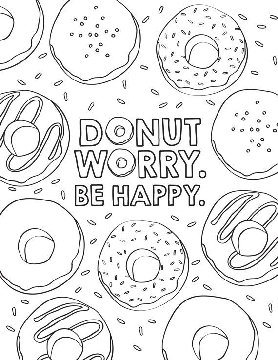 coloring printable donut donut coloring pages picture whitesbelfast coloring printable donut