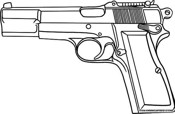 coloring printable gun pistol coloring pages to download and print for free printable gun coloring