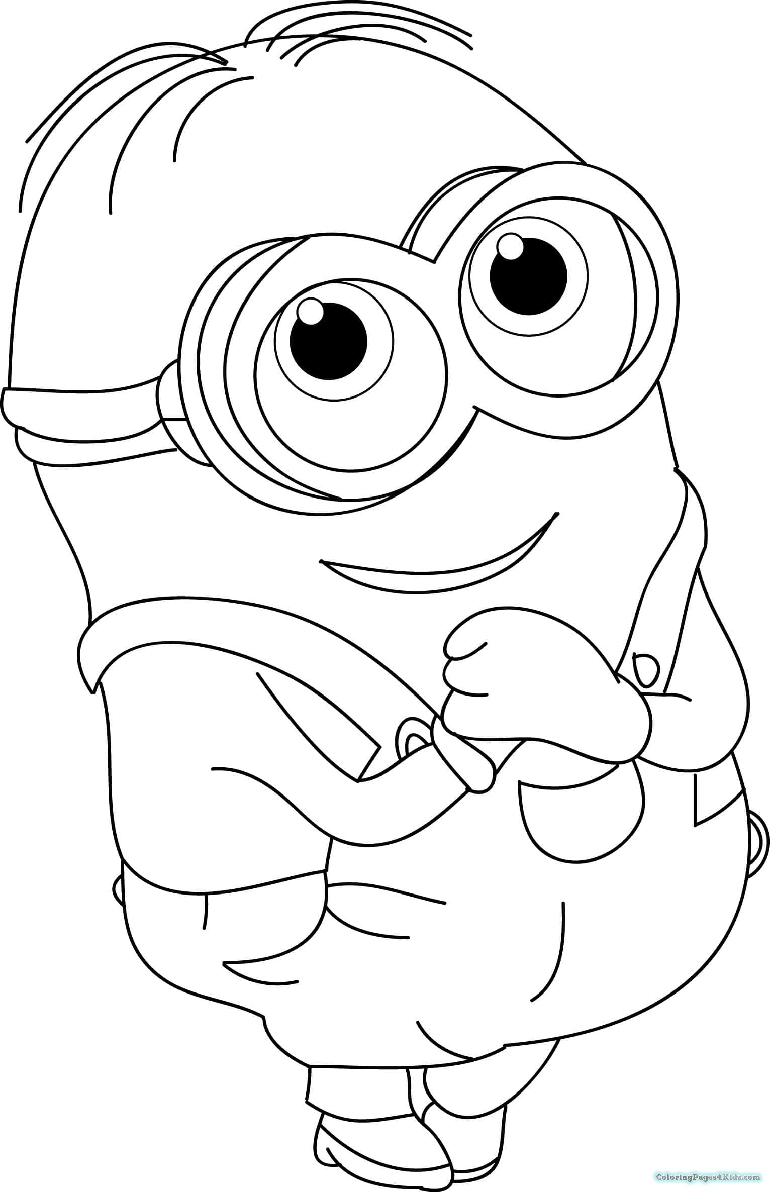 coloring printable minions coloring pages of minions baby kevin coloring pages for kids minions coloring printable