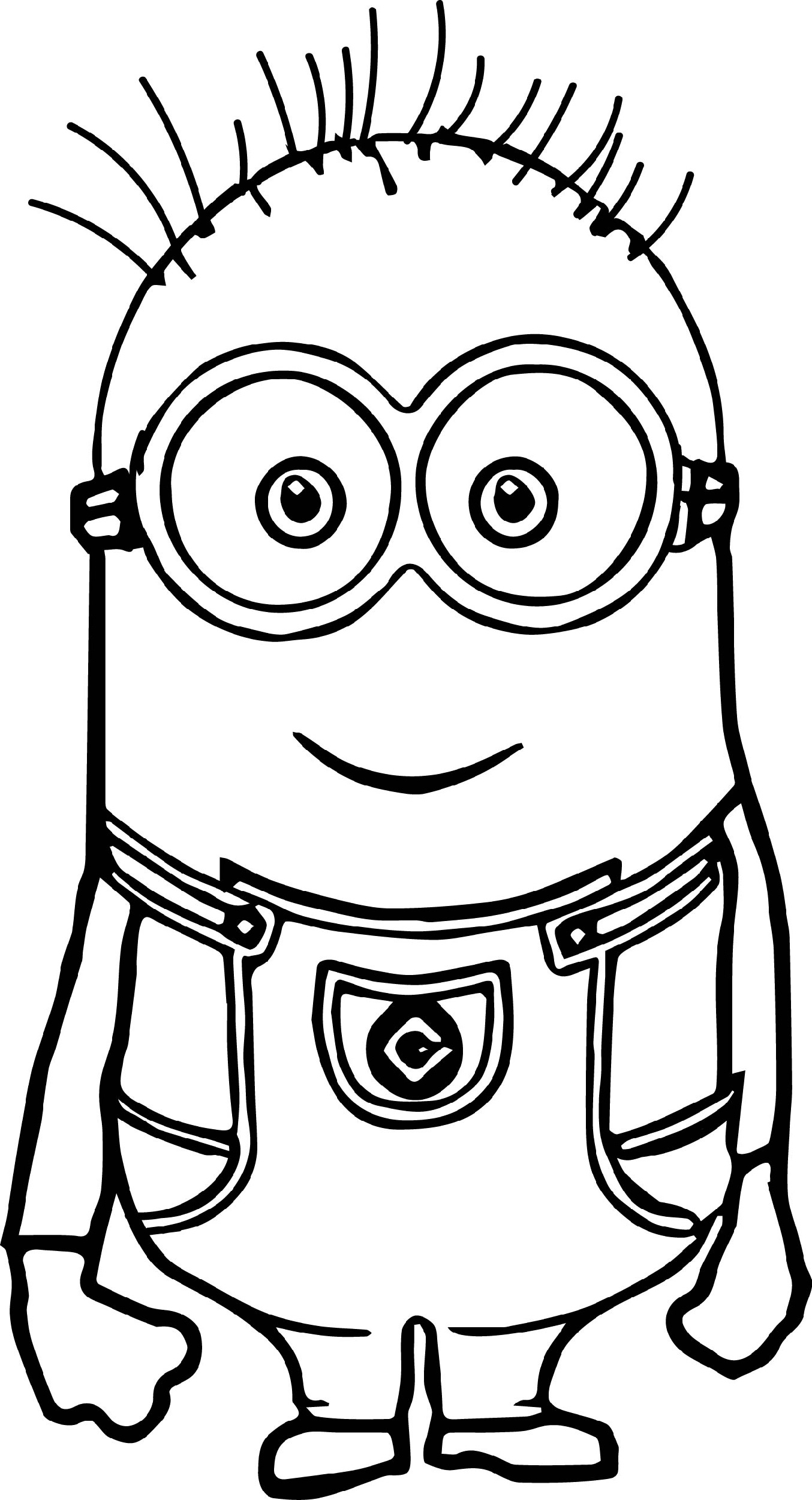 coloring printable minions minion coloring pages for chdren educative printable coloring printable minions