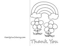 coloring printable thank you card for teacher free printable cards create and print free printable for card thank teacher coloring you printable