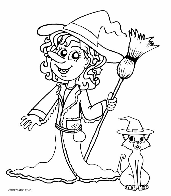 coloring printable witch cute kids halloween witch coloring pages coloring pages witch coloring printable