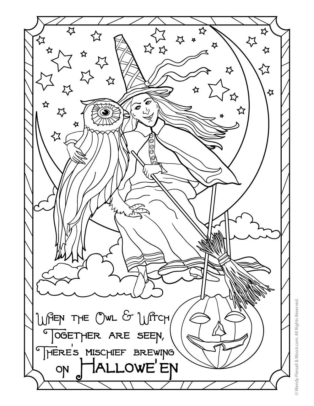 coloring printable witch free printable witch coloring pages for kids printable witch coloring