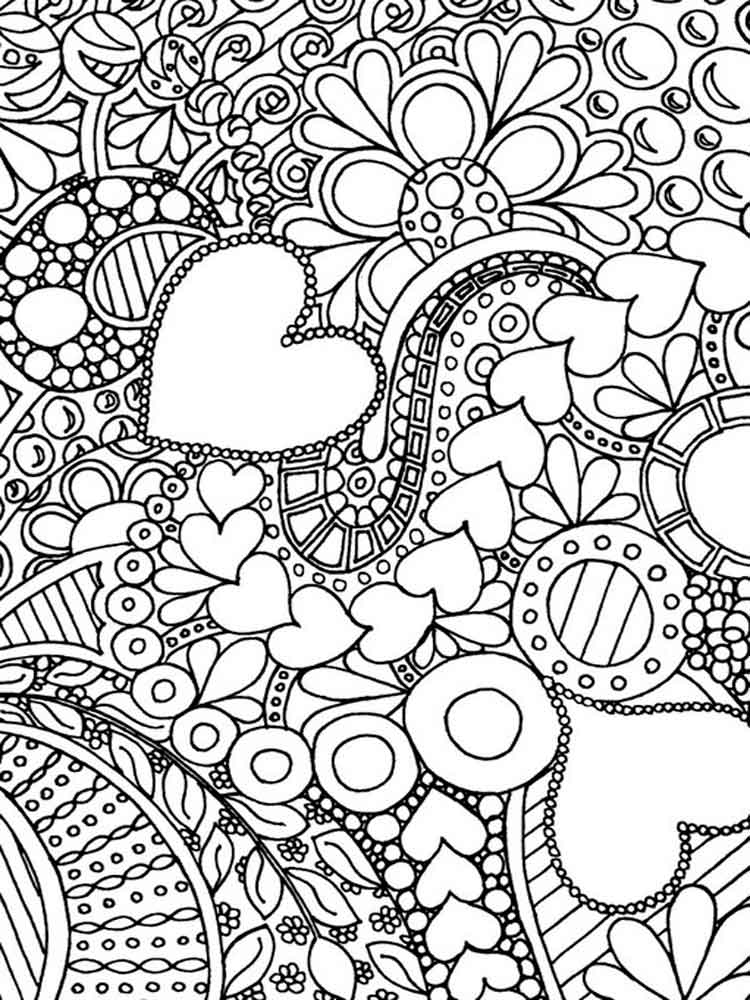 Coloring prints for adults