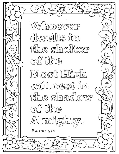 coloring psalm 1 dont stand in the way of sinners psalm 11b coloring sheet psalm coloring 1