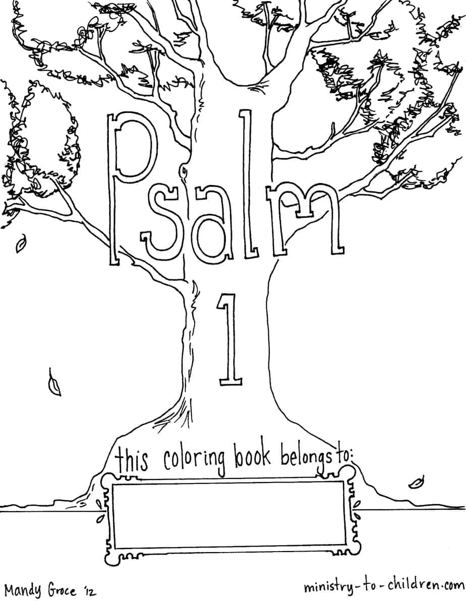 coloring psalm 1 free coloring book download psalm 1 1 psalm coloring