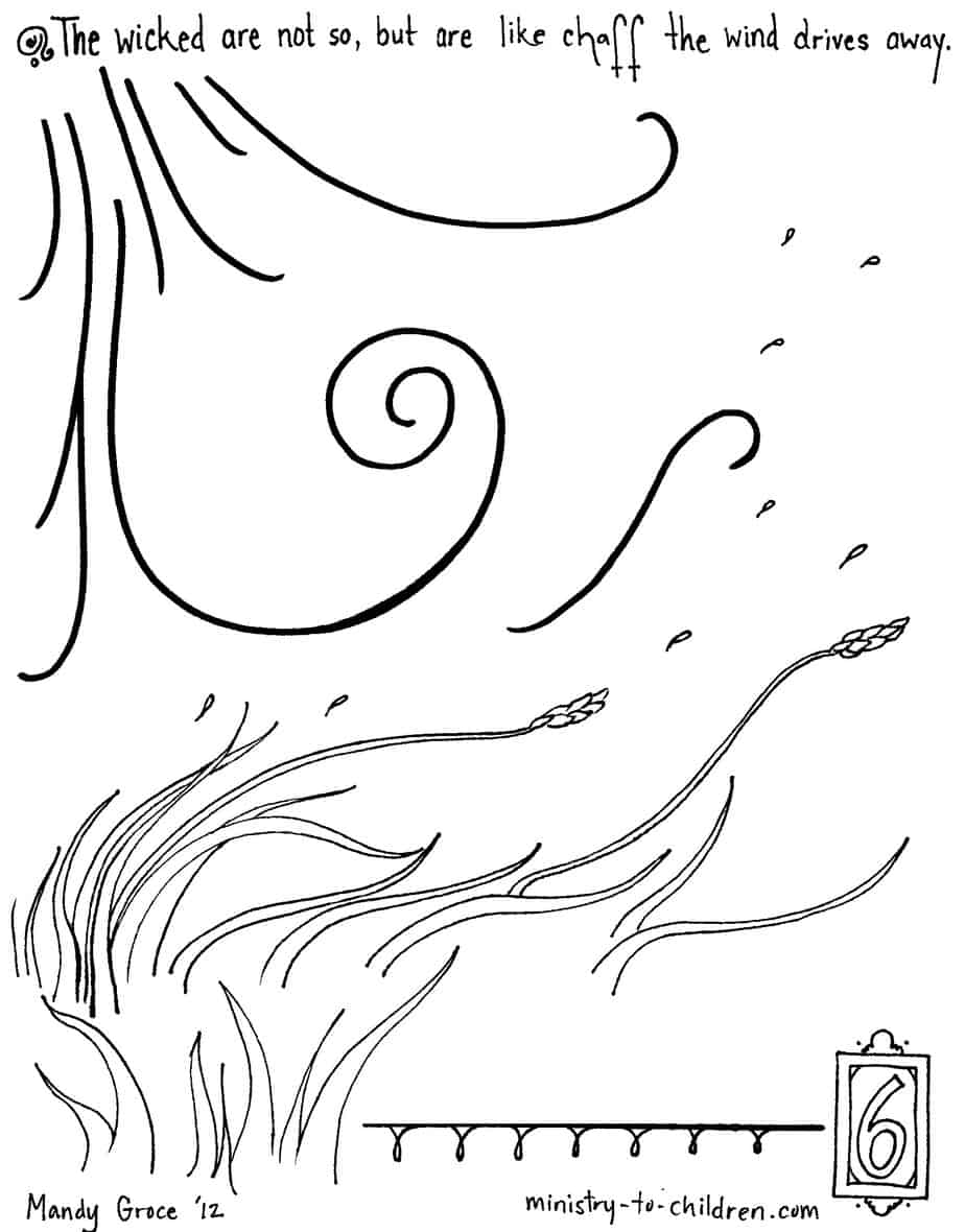coloring psalm 1 psalm 1 1 6 tree by water coloring page free 1 coloring psalm