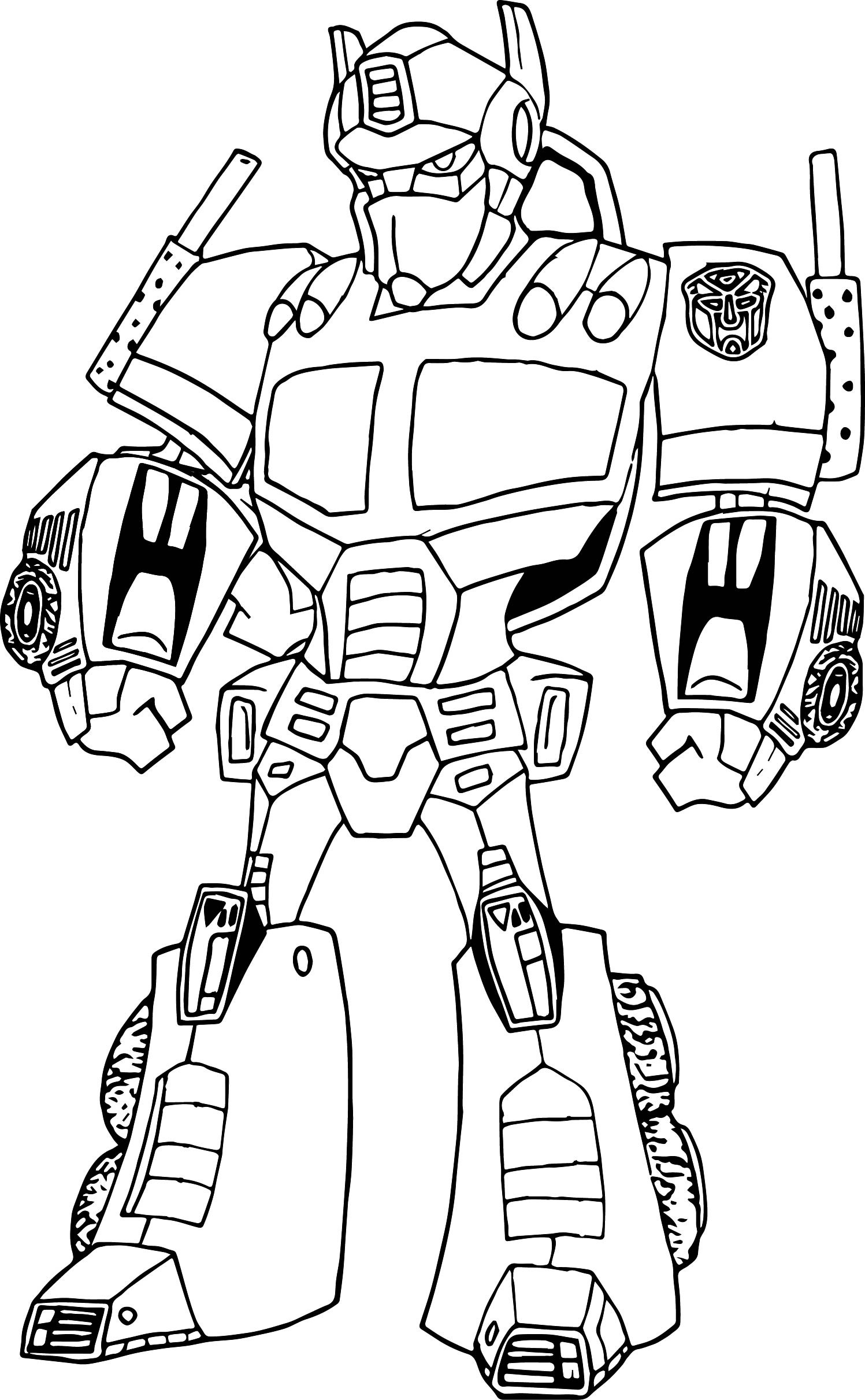Coloring robot pages