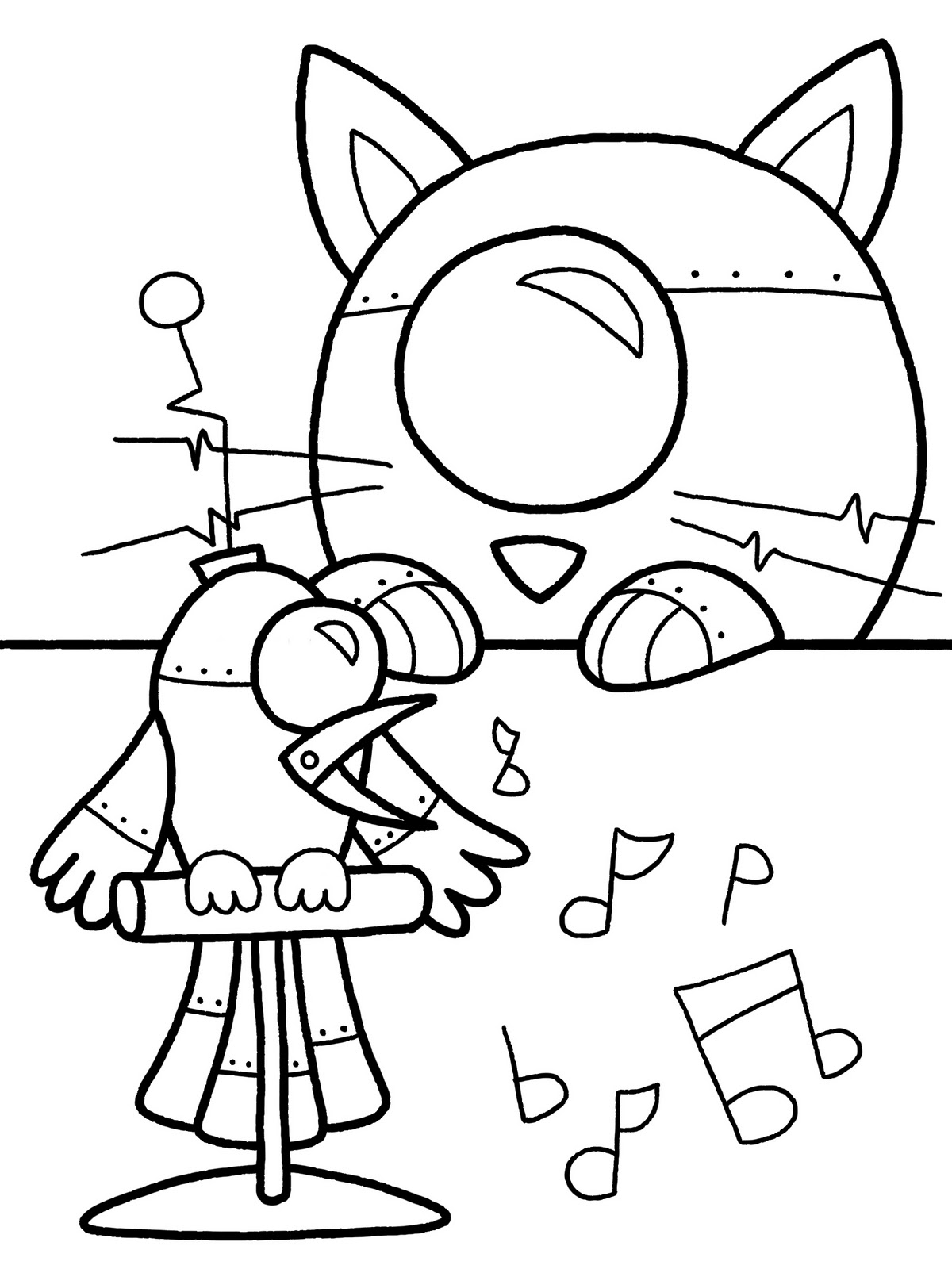 coloring robot pages robot colouring page adult colouring book page one page robot pages coloring