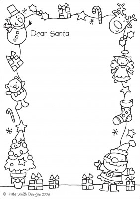 coloring santa letter template christmas freebies 6 printable letters to santa scrap letter template coloring santa
