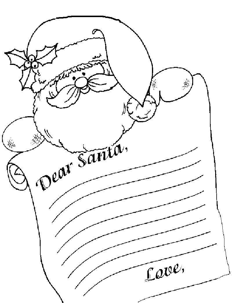 coloring santa letter template dear santa templategif 8001046 santa coloring pages template santa coloring letter