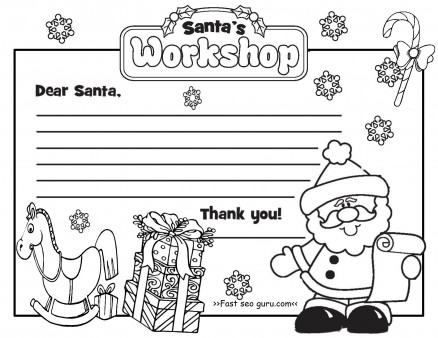 coloring santa letter template printable christmas letter to santa claus write template coloring santa template letter