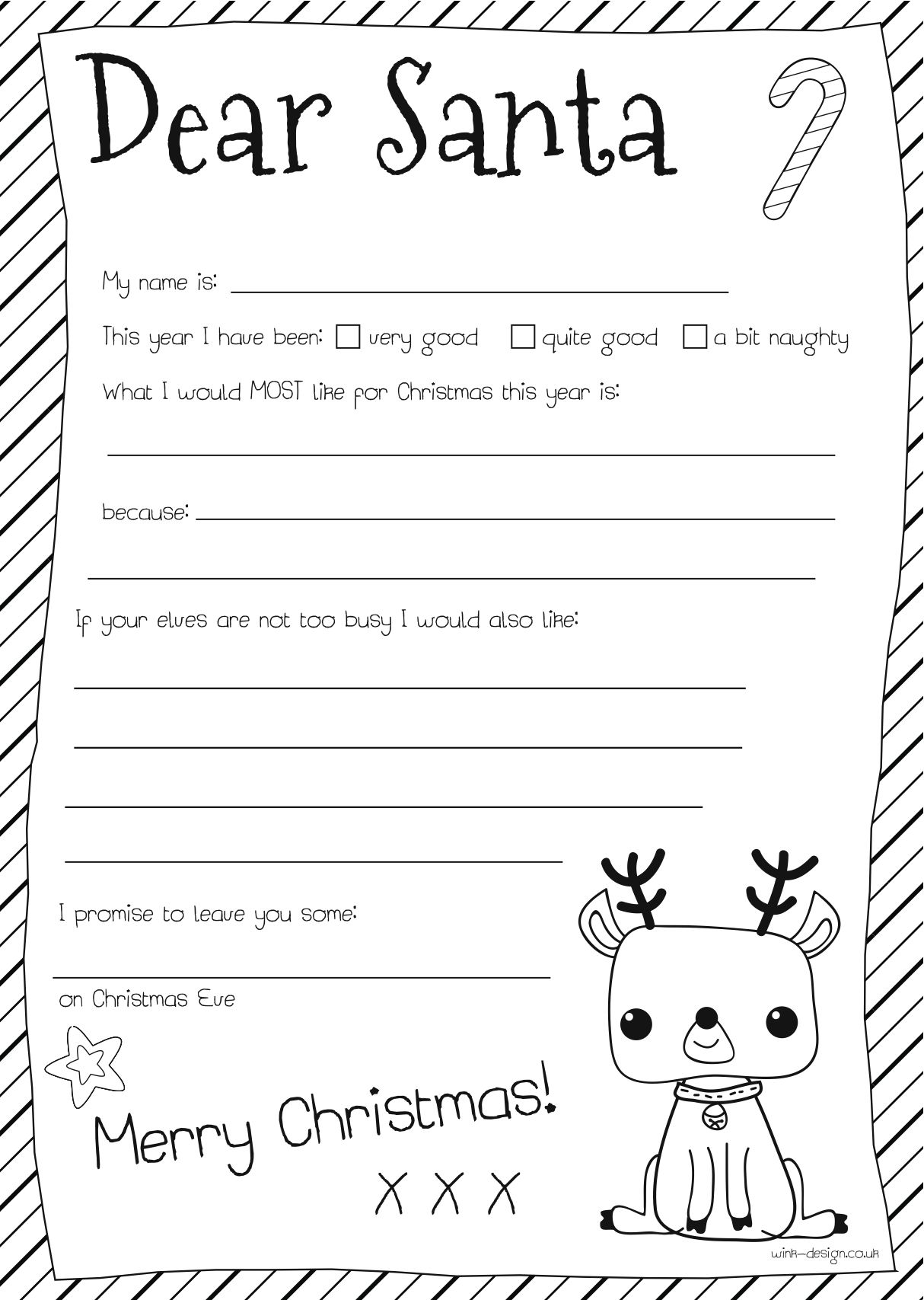 coloring santa letter template style me gorgeous free colour in letter to santa santa letter coloring template