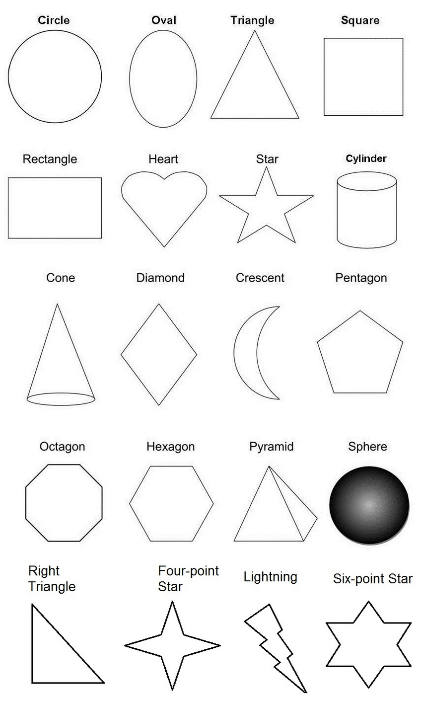 coloring shapes and make pictures of shapes 3d shapes coloring pages for students shapes shapes make of coloring and pictures
