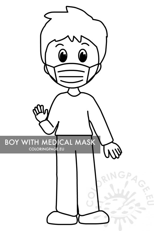 coloring sheet eyes coloring page child in protective medical mask coloring page coloring eyes page coloring sheet