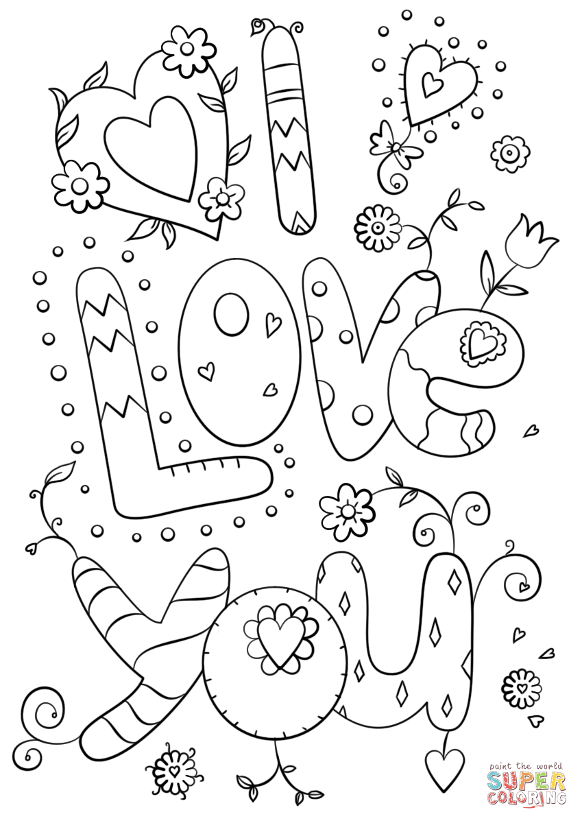 coloring sheet i love you abatian quoti love you quot coloring pages i love you coloring sheet