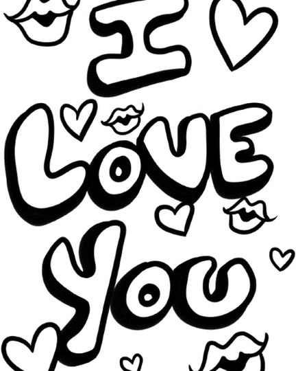 coloring sheet i love you httpfreecoloring pagescom you love i coloring sheet