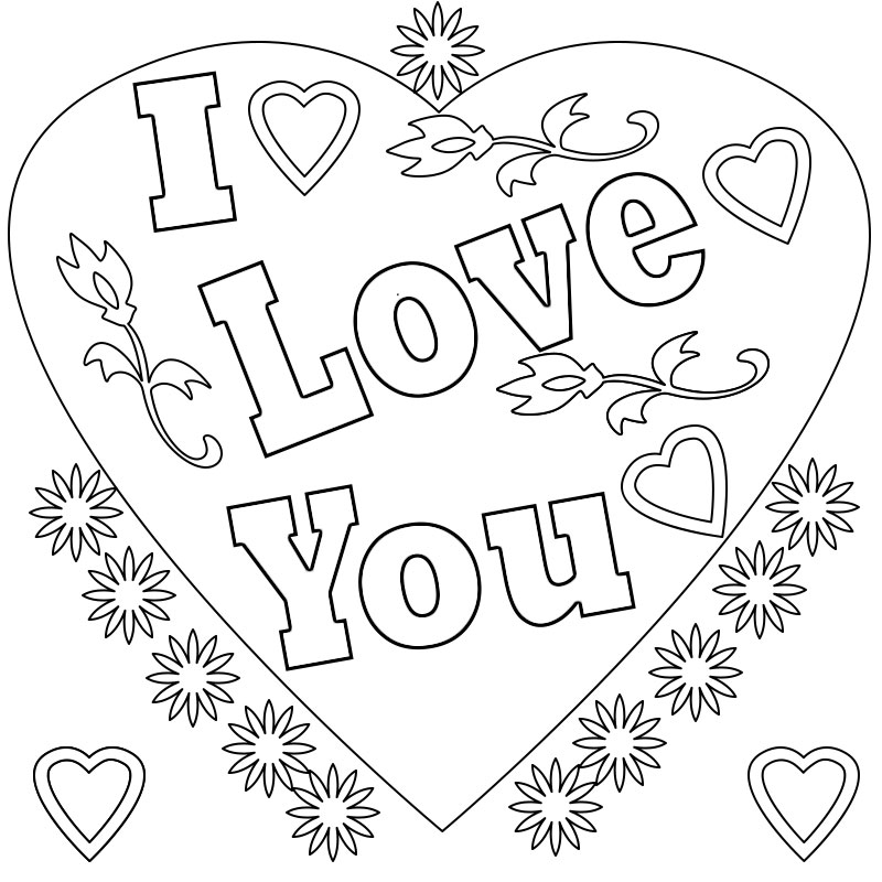 coloring sheet i love you i love you coloring pages to download and print for free love coloring you sheet i