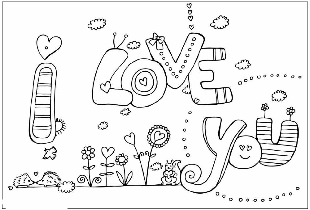 coloring sheet i love you i love you printable pages coloring pages sheet love you i coloring