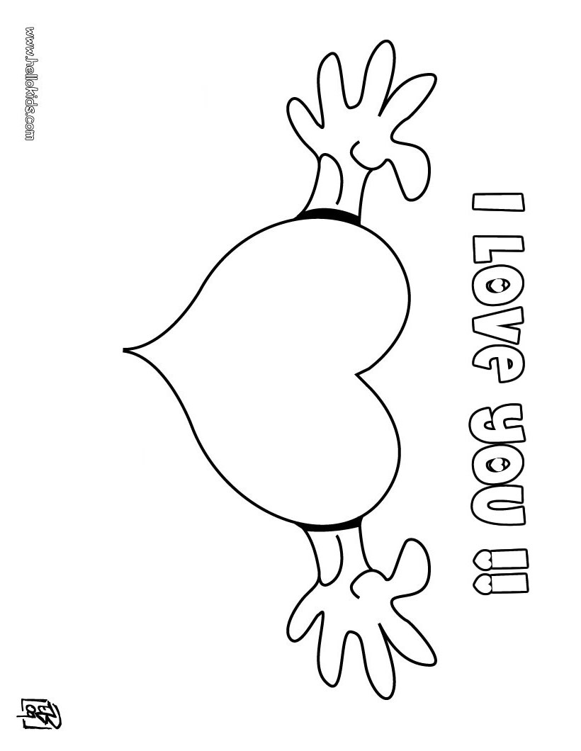 coloring sheet i love you quoti love you quot coloring pages you coloring love sheet i