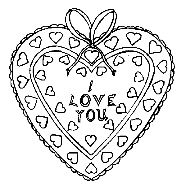 coloring sheet i love you valentine39s day card quoti love youquot coloring page free coloring you love sheet i