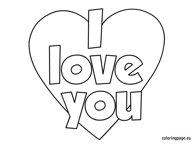 coloring sheet i love you you are special coloring pages at getcoloringscom free coloring love you i sheet