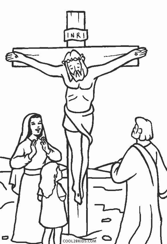 coloring sheet jesus jesus on the cross coloring pages printable at jesus sheet coloring