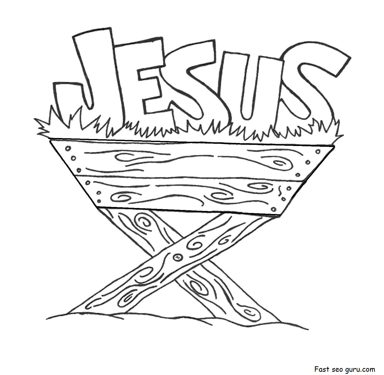 coloring sheet jesus print out jesus in the manger coloring pages sheet coloring jesus