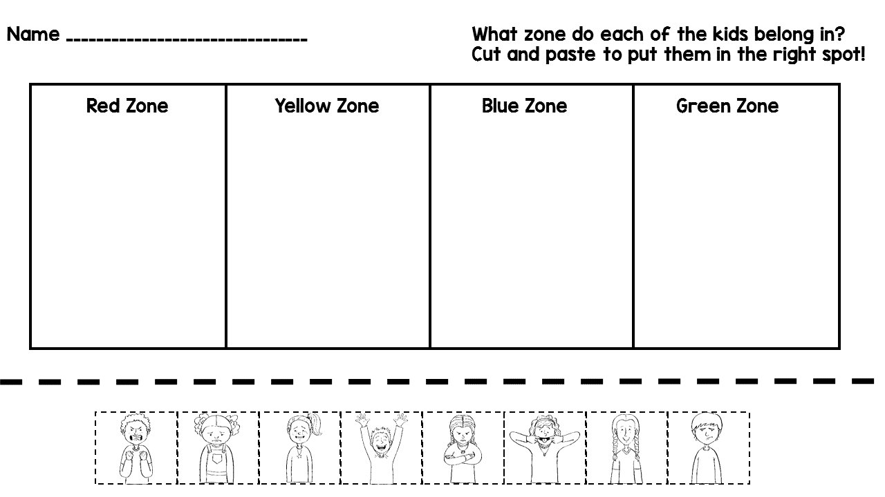 coloring sheet zone printable zones of regulation faces coloring pages kids coloring sheet zones of regulation faces of zones regulation coloring zone printable sheet
